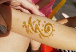 sztuczne tatuaże dla dzieci